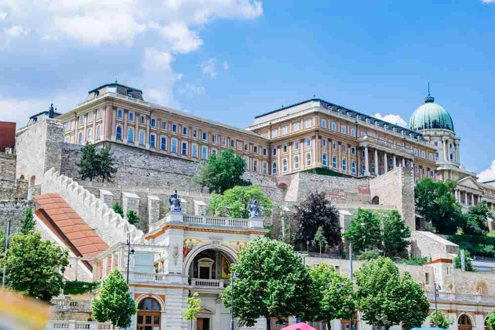 1 month europe trip budapest royal palace