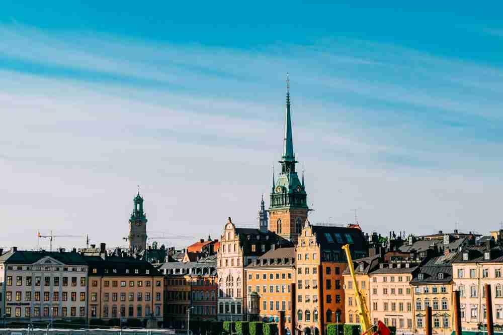 1 month europe trip stockholm