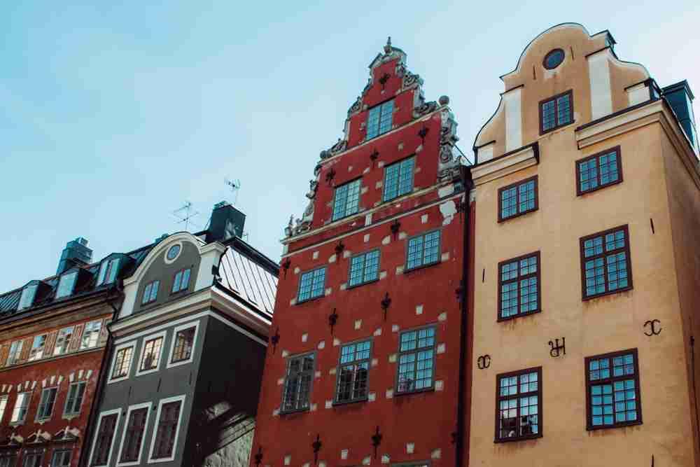 1 month europe trip gamla stan stockholm