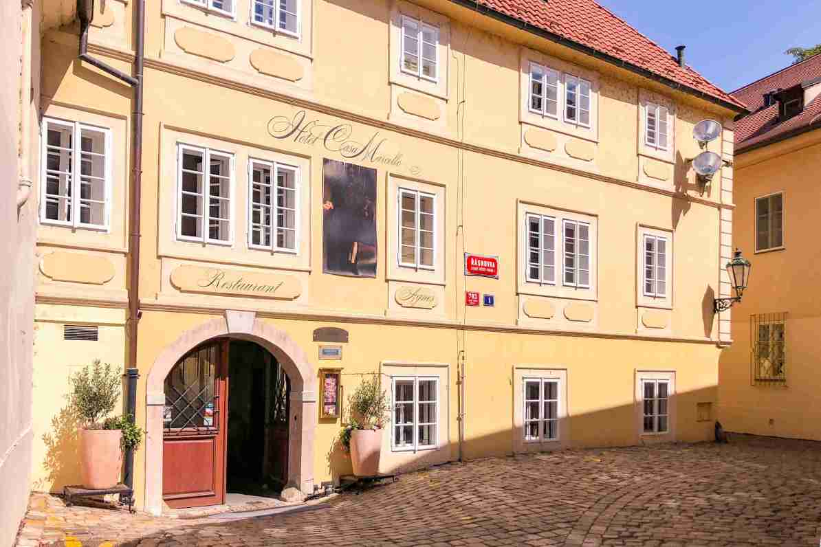 Where To Stay In Prague Hotel Casa Marcello