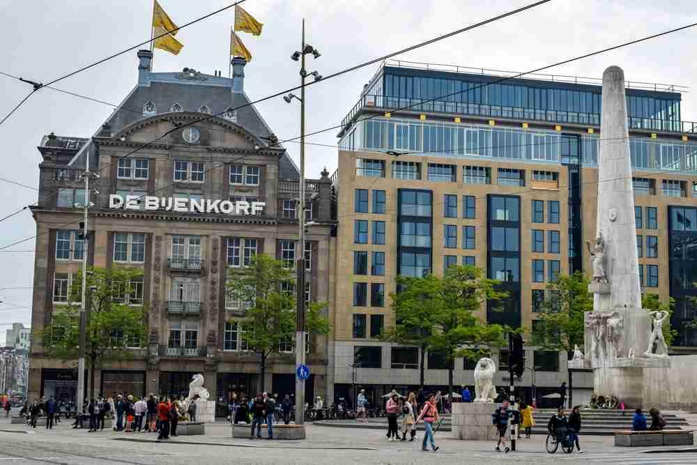 amsterdam in a day dam square