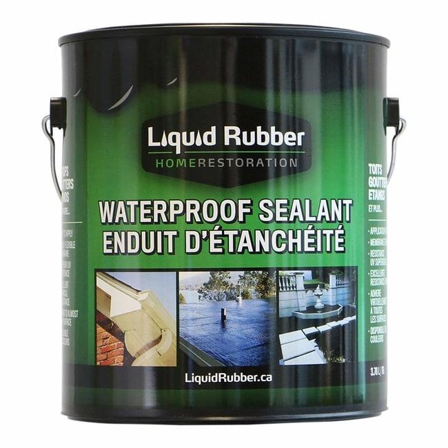 Liquid Rubber Black Waterproof Pond Sealant