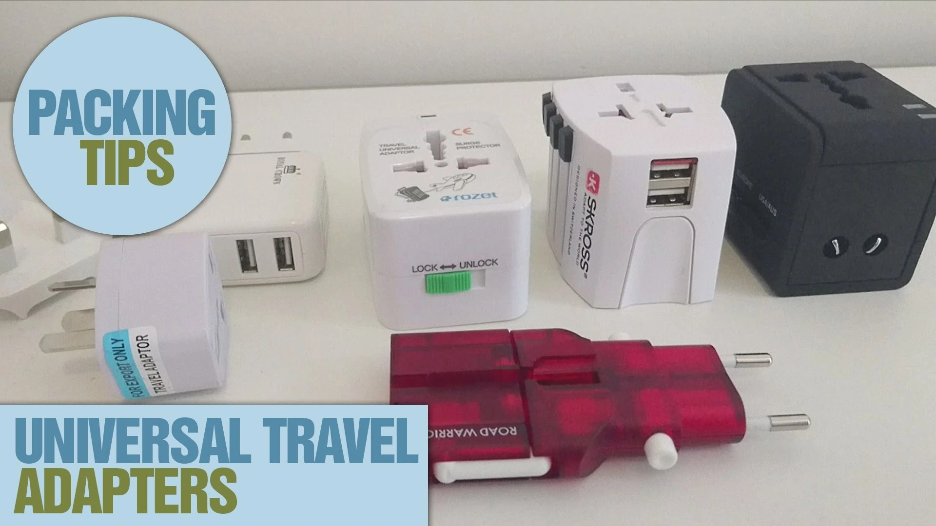 The 5 Best Universal Adapters for Traveling 2017