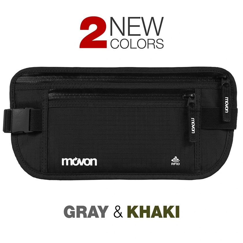 MOVON Travel Money Belt