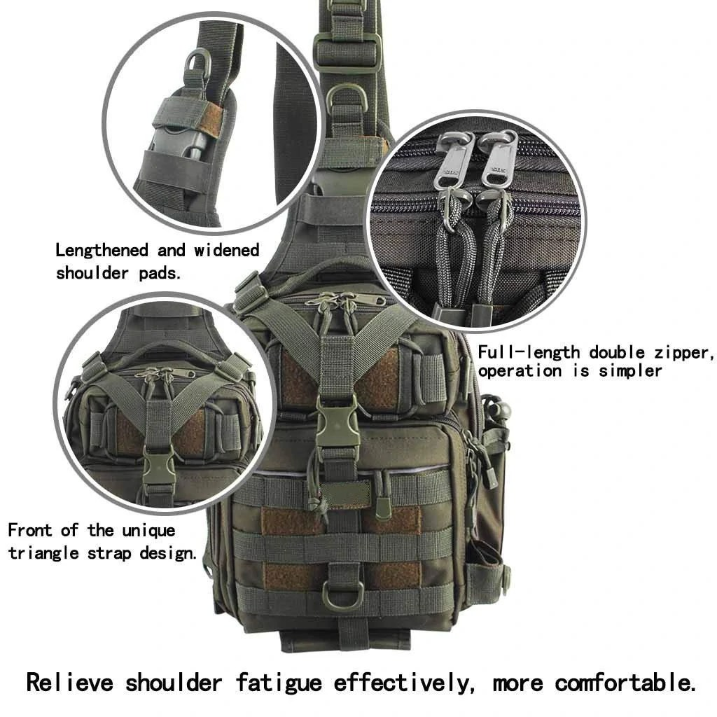 BLISSWILL Outdoor Tackle Bag Front