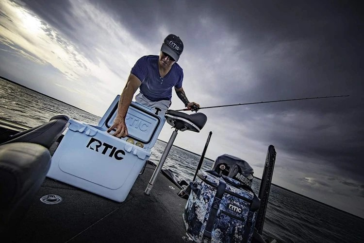 RTIC 20 Cooler Fishing