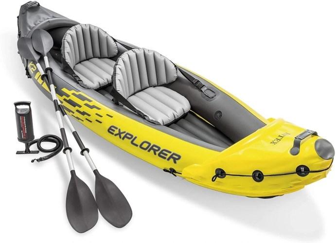 Intex Explorer Ks Inflatable Kayak Features