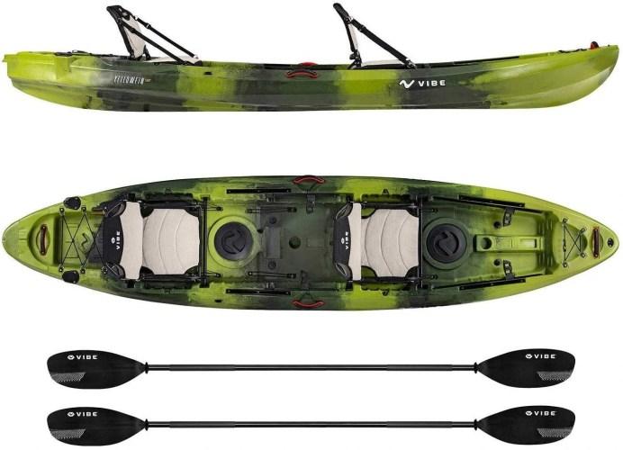 Vibe Yellowfin 2-Person Fishing Kayak