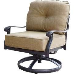 Swivel Chair National Bookstore 2 X 4 Adirondack Plans Darlee Elisabeth 3 Piece Cast Aluminum Conversation