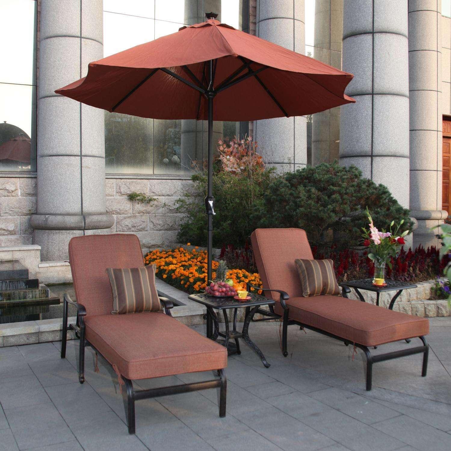 Patio Furniture Sets Umbrella