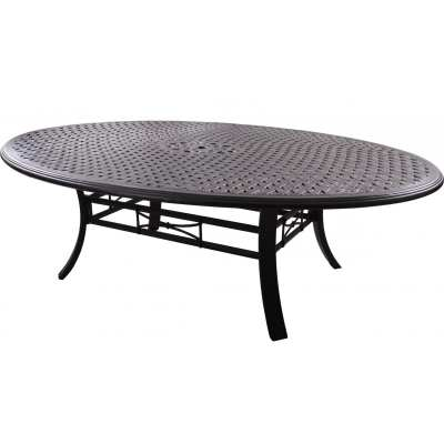 Darlee Series 99 Cast Aluminum Patio Dining Table