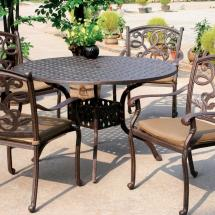 Cast Aluminum Patio Dining Set Furniture