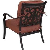 Darlee St. Cruz Cast Aluminum Patio Club Chair