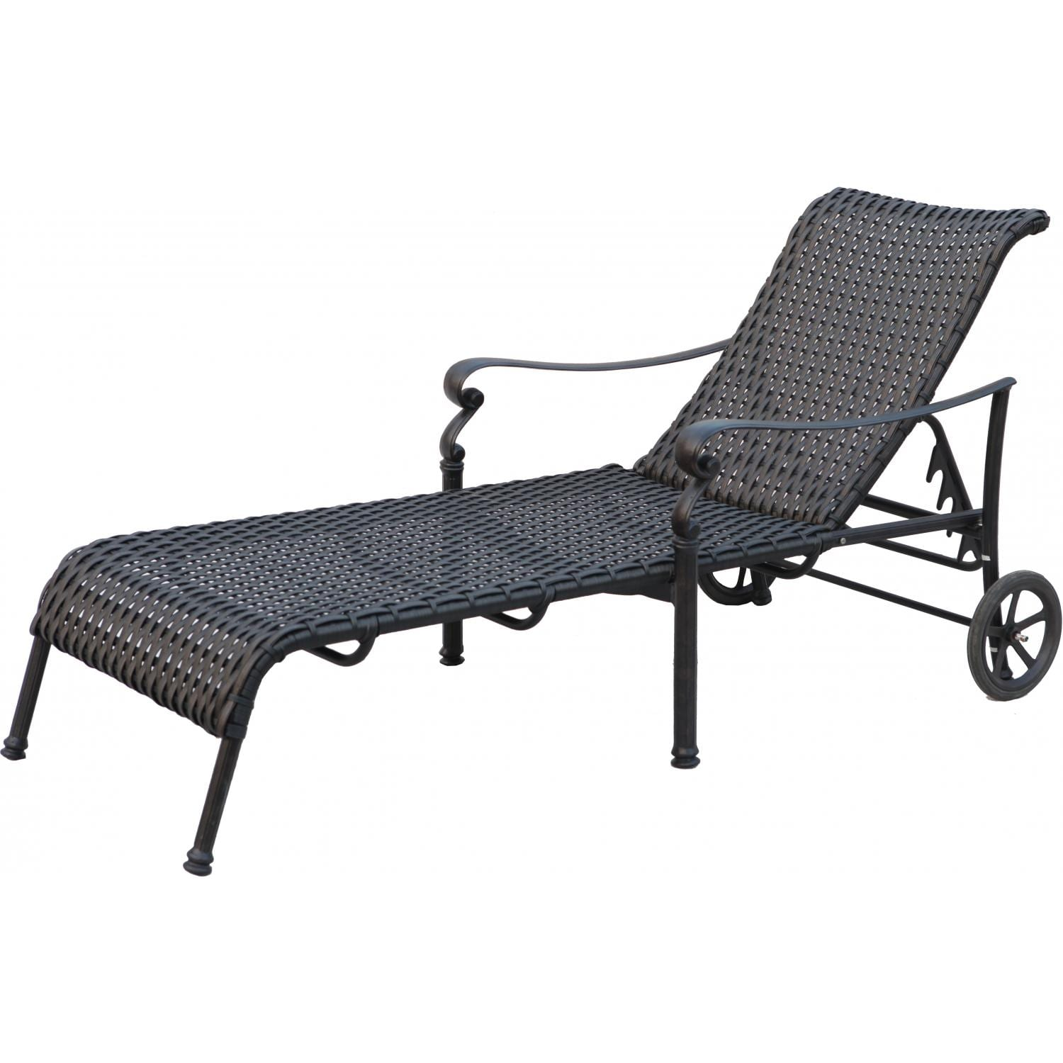 resin chaise lounge chairs round folding lawn darlee victoria wicker patio