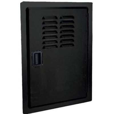 Fire Magic Legacy Louvered Black Single Access Door