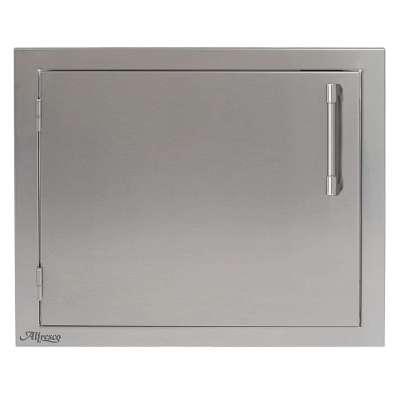 Alfresco 23-Inch Left-Hinged Vertical Single Access Door