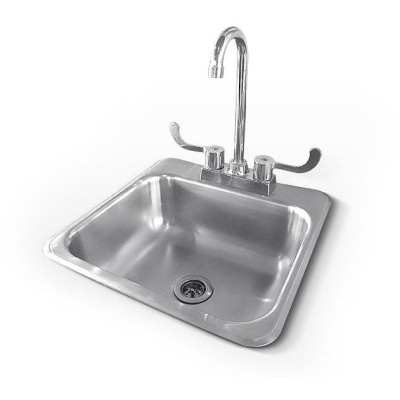 RCS 15 X 15 Outdoor Rated Sink Plus Faucet