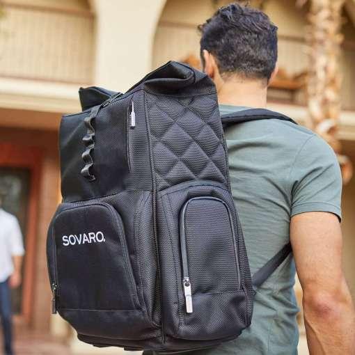 Sovaro Backpack Cooler - Black