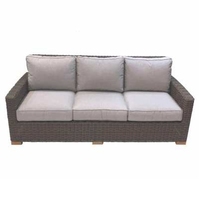 Royal Teak Collection Sanibel Wicker Sofa - SBS3