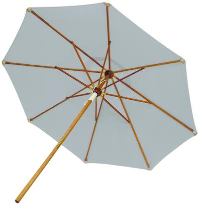 Royal Teak Collection 10 Foot Granite Market Umbrella
