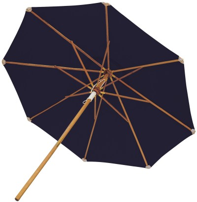 Royal Teak Collection 10 Foot Navy Market Umbrella - UMBN