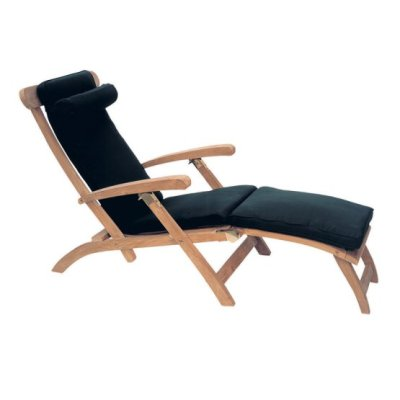 Royal Teak Collection Steamer Adjustable Chaise Lounger