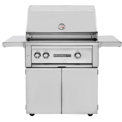 Outdoor Kitchen With Freestanding Grill Remodeling On A Budget Lynx Sedona 30 Inch The Store
