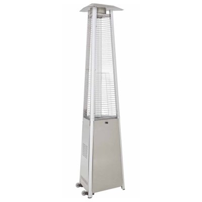 AZ Patio Heaters Commercial Stainless Steel Glass Tube Heater