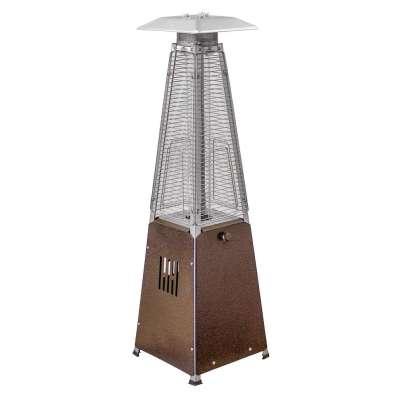 AZ Patio Heaters 39-Inch Bronze Table Top Glass Tube Heater