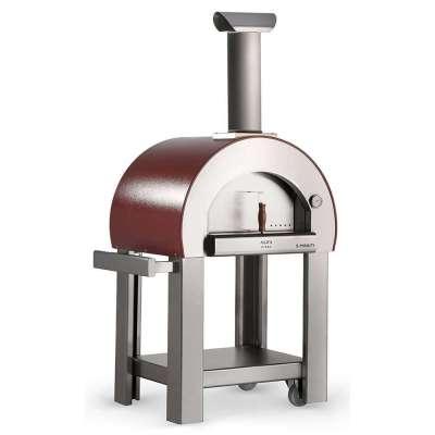 Alfa 5 Minuti Pizza oven on cart