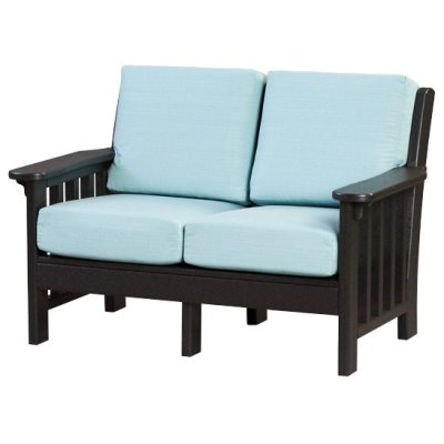 Finch Mission Love Seat