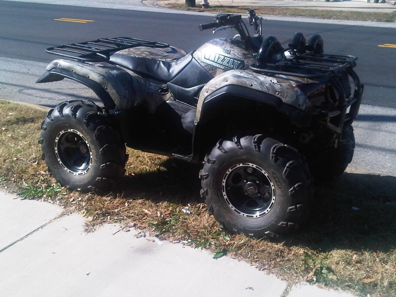hight resolution of 2002 yamaha grizzly 660 4wd camo