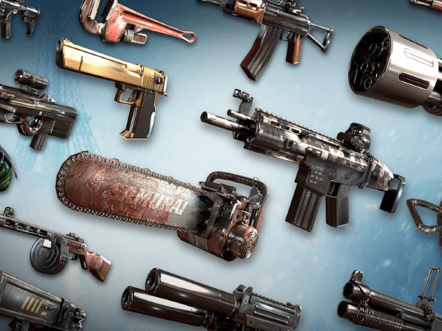 You want guns? We got guns!