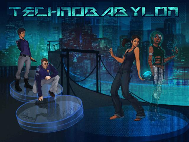 Technobabylon-poster