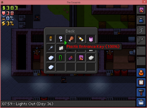 The escapists inventory