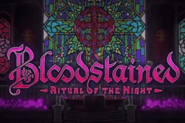 BLoodstained logo screen
