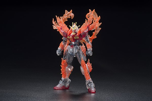 Bandai BURNING GUNDAM PP CLEAR VER.