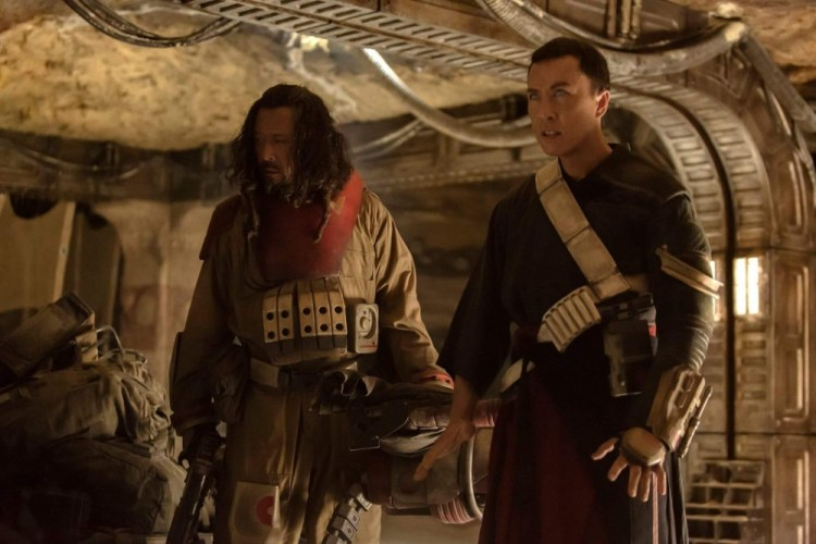 Chirrut and Baze.