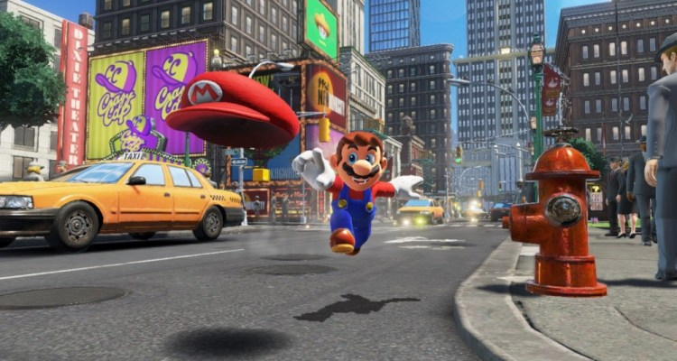 Super Mario Odyssey Nintendo Switch Reveal