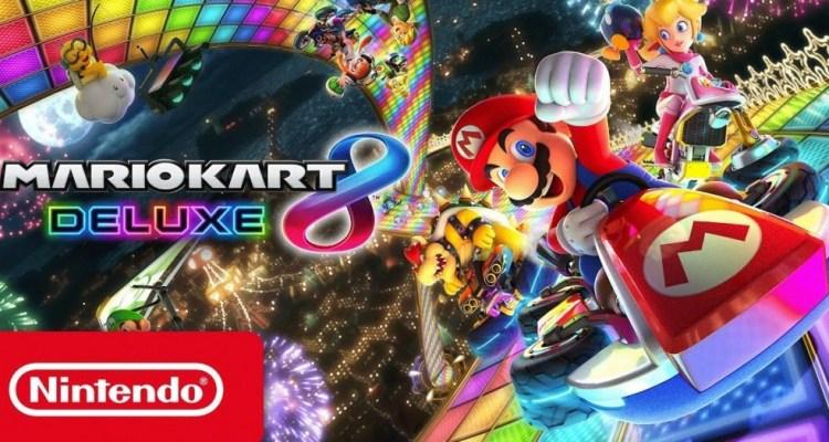 Nintendo Switch launch, Mario Kart 8 Deluxe