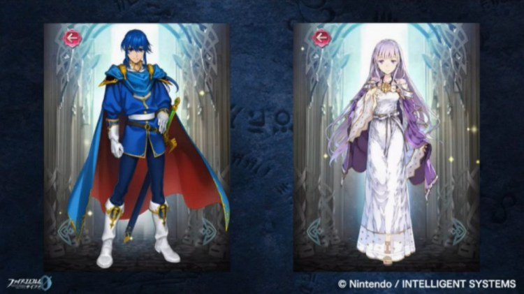 Seliph and Julia Fire Emblem Heroes