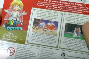 Mario Odyssey Peach Amiibo
