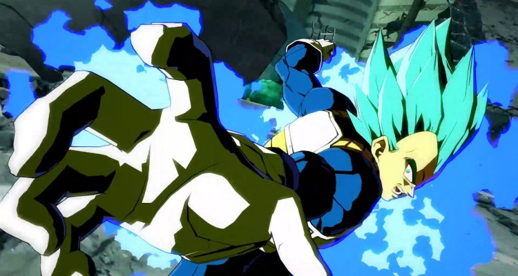 Dragon Ball FighterZ ssgss vegeta