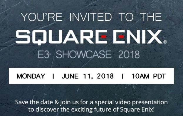 squareenix-e3-2018-invite