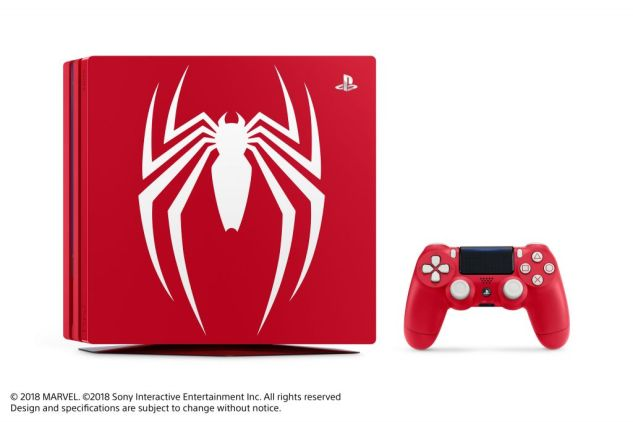 Limited edition Spider-Man PS4 Pro-02