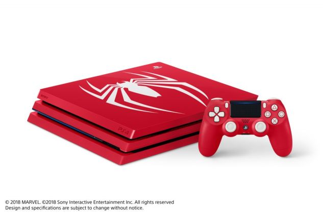 Limited edition Spider-Man PS4 Pro-022