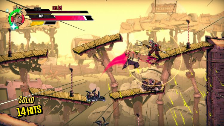 Speed Brawl's gameplay places emphasis on movement.