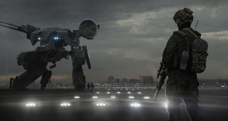 Metal Gear Movie Concept Art Nick Foreman