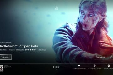 Battlefield V open beta - PS4