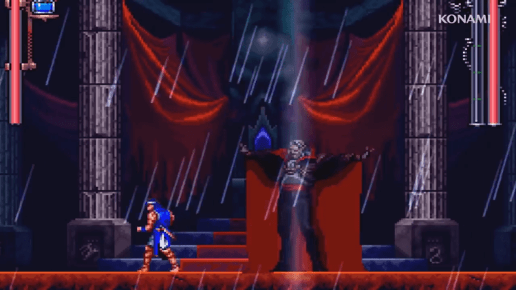 Castlevania Requiem - richter vs drac